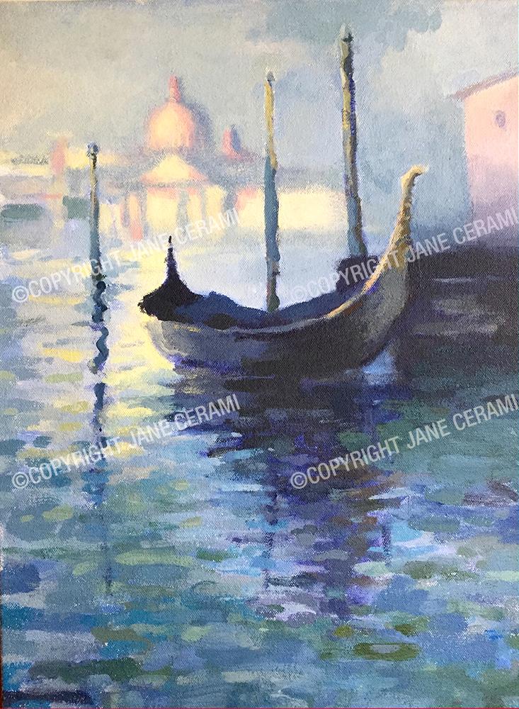 Monet Study Of Venice