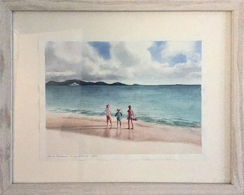 Anguilla With Frame