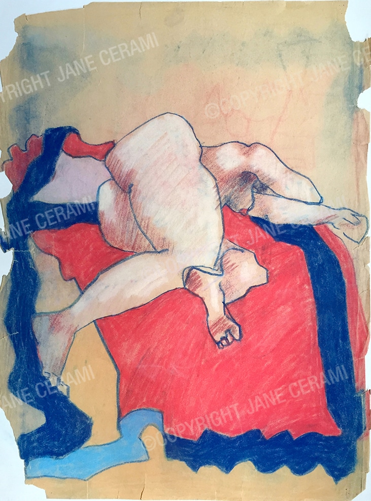 Nude On Blanket